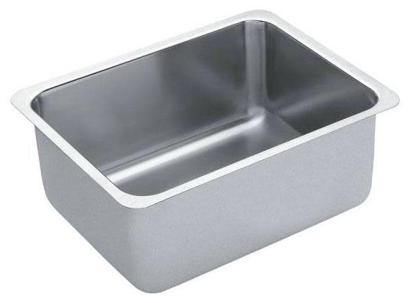 """18"""" x 23"""" x 10"""" Undermount Single Bowl Kitchen Sink - Lancelot, Stainless Steel"""