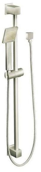 """Eco-Performance 90D Hand Shower - 3-1/8"""" Face, Brushed Nickel, 1-Way, 1.75 GPM at 80 psi"""