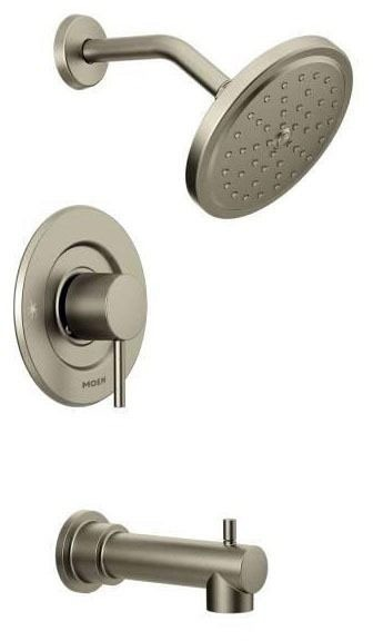 Align Brushed Nickel Moentrol Tub/Shower