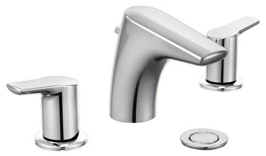 Method Chrome Two-Handle Bathroom Faucet