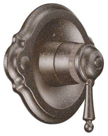 1-Lever Handle Tub and Shower Valve Trim - Waterhill / ExactTemp, Oil Rubbed Bronze, Metal