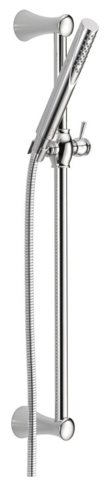 Grail Premium Single-Setting Slide Bar Hand Shower Chrome