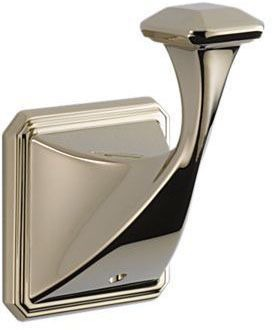 Brizo Virage Wall Mount Robe Hook - Brilliance Polished Nickel