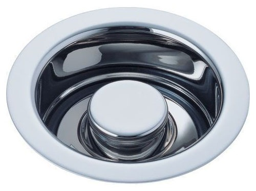 Garbage Disposal Flange Kit - With Stopper, Stainless Steel