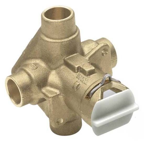 CC Pressure Balancing Cycling Tub and Shower Valve, Brass
