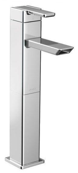 Chrome One-Handle Vessel Bathroom Faucet