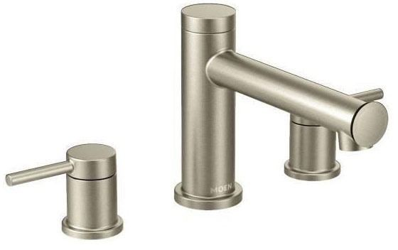 Align Brushed Nickel Two-Handle Roman Tub Faucet