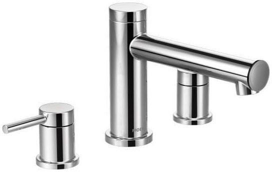 Align Chrome Two-Handle Roman Tub Faucet