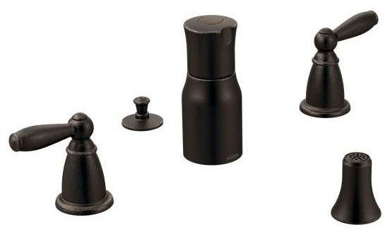 Brantford Oil Rubbed Bronze Two-Handle Bidet Faucet