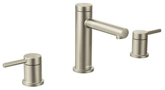 Align Brushed Nickel Two-Handle Bathroom Faucet