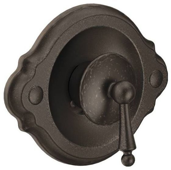 1-Lever Handle Tub and Shower Valve Trim - Waterhill / Posi-Temp, Oil Rubbed Bronze, Metal