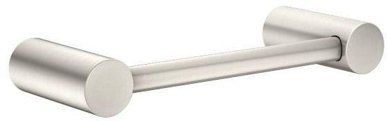 "9.17"" Round Towel Bar - Align, Brushed Nickel Zinc"