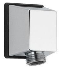 Square Wall Elbow For Hand Shower Chrome