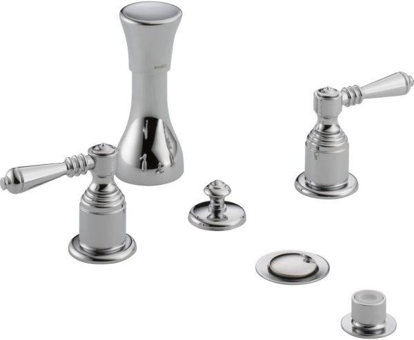 Tresa Bidet Faucet Less Handle - Polished Chrome