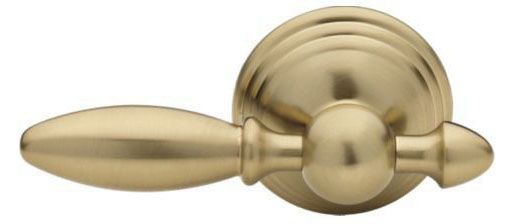 "Victorian 10-1/2"" Toilet Tank Lever - Brilliance Champagne Bronze, Universal Mount"