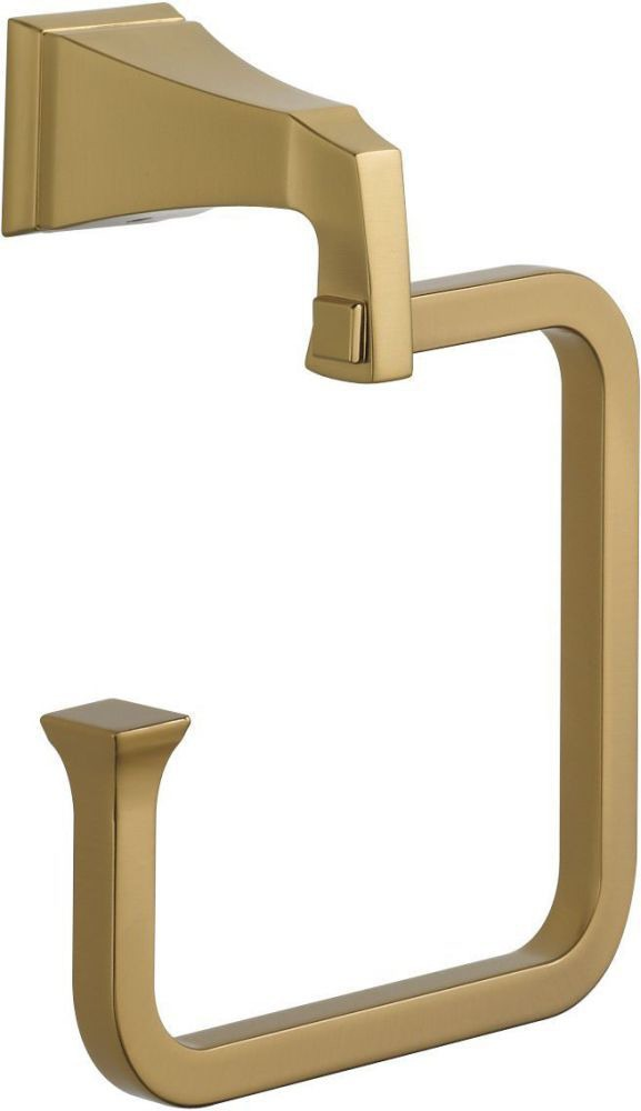 "Dryden 6"" Towel Ring - Brilliance Champagne Bronze"
