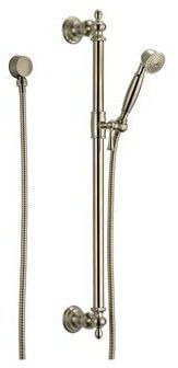 "1/2""-14 NPSM Traditional Hand Shower - Brilliance Brushed Nickel, 1-Way, 2 GPM at 80 psi"