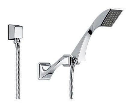 "1/2""-14 NPSM Hand Shower - VIRAGE, Polished Chrome, 1-Way, 2 GPM at 80 psi"