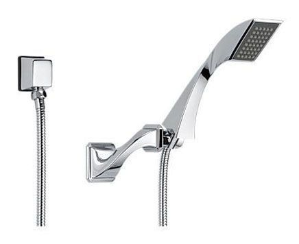 """1/2""""-14 NPSM Hand Shower - VIRAGE, Polished Chrome, 1-Way, 2 GPM at 80 psi"""