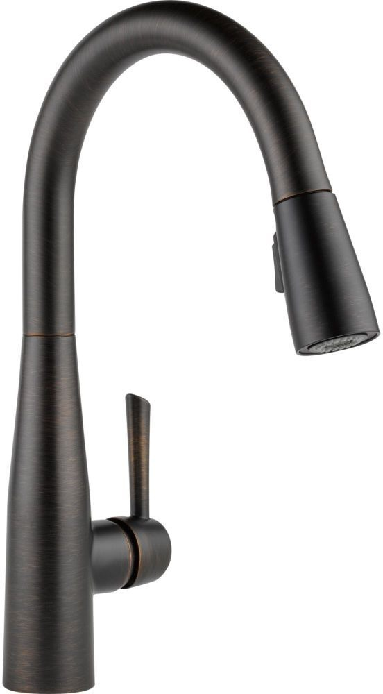 Essa High-Arc Pull-Down Kitchen Faucet with Single Handle - Venetian Bronze, 1.8 GPM