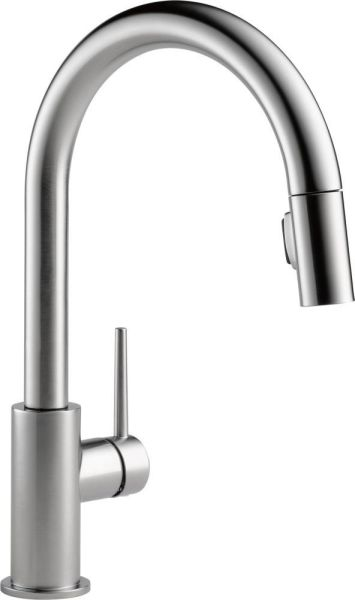 Trinsic High-Arc Pull-Down Kitchen Faucet with Single Lever Handle - Arctic Stainless, 1.8 GPM