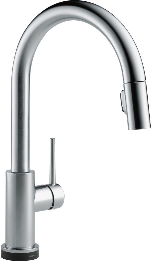 Trinsic High-Arc Pull-Down Kitchen Faucet with Single Handle - Arctic Stainless, 1.8 GPM