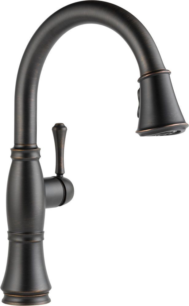 Cassidy High-Arc Pull-Down Kitchen Faucet with Single Lever Handle - Venetian Bronze, 1.8 GPM