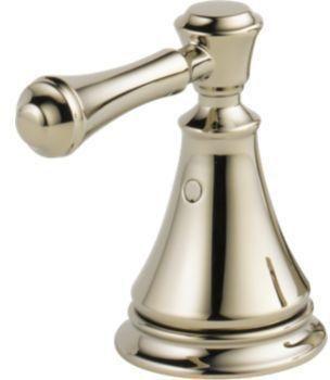 Cassidy Metal Lever Bathroom Sink Faucet Handle Kit - Brilliance Polished Nickel