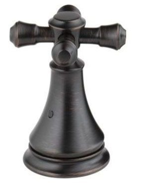 Cassidy Metal Cross Tub Faucet Handle Kit - Venetian Bronze