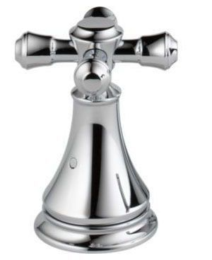 Cassidy Metal Cross Tub Faucet Handle Kit - Chrome Plated
