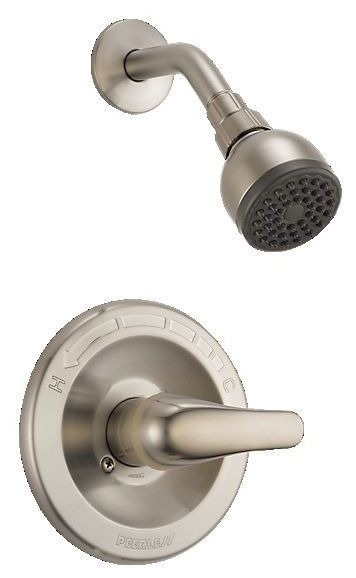 Shower Trim with Single Lever Handle - CORE, Brushed Nickel, Wall Mount, 1.5 GPM