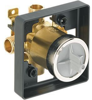 "1/2"" Tub and Shower Rough Valve Body - MultiChoice, MPT / CWT C, 9.9 GPM at 80 psi, Forged Brass"