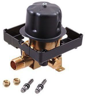"1/2"" Tub and Shower Rough Valve Body - MultiChoice, MPT / CWT C, 8.6 GPM at 80 psi, Forged Brass"