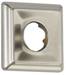 Square Shower Flange, Brilliance Stainless Steel