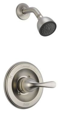 Classic Shower Trim Kit - Monitor 13, Single Lever Handle, Brilliance Stainless, 1.75 GPM