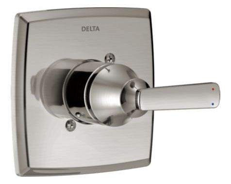 Ashlyn Tub/Shower Valve Trim Only - Monitor 14, Brilliance Stainless, Solid Brass