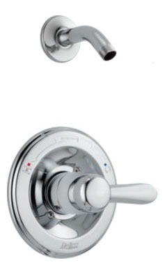 Lahara Shower Trim Without Head - Monitor 14, Single Handle, Chrome Plated