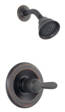 Lahara Shower Trim Kit - Monitor 14, Single Handle, Venetian Bronze, 1.75 GPM
