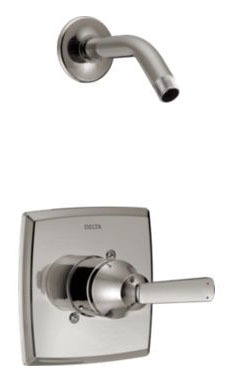 Ashlyn Shower Trim Without Head - Monitor 14, Single Handle, Brilliance Stainless