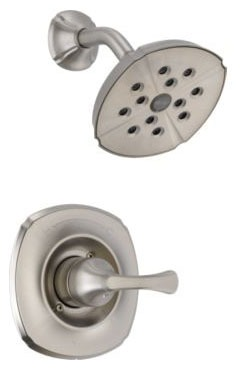Addison Shower Trim Kit - Monitor 14, Single Handle, H2Okinetic Head, Brilliance Stainless, 1.75 GPM