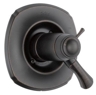 "Addison 6"" Tub and Shower Faucet Valve Trim - TempAssure, Venetian Bronze, Solid Brass"