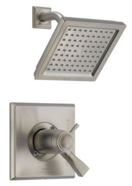 Dryden Shower Trim Kit - TempAssure, Single Lever Handle, Brilliance Stainless, 2.5 GPM