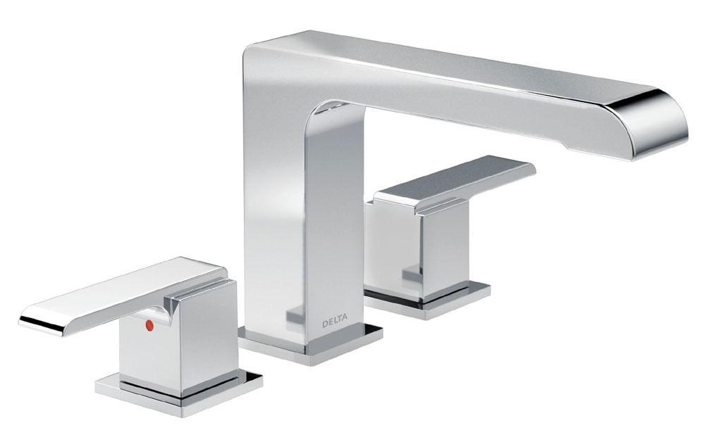 Ara Roman Tub Trim - Standard Spout, Chrome Plated
