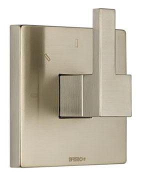 1-Lever Handle Shower Diverter Trim - Siderna, Brilliance Brushed Nickel