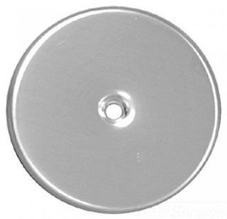 """7"""" Stainless Steel 16 Guage Cleanout/Extension Cover Floor Mount"""