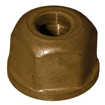 1/2-14 X 9/16 Basin Nut, Brass