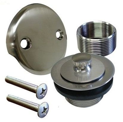2-Hole Lift and Turn Conversion Kit, Brushed Nickel