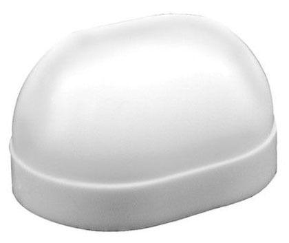 Oval Closet Bolt Cap, Plastic