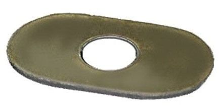 Oval Closet Bolt Washer, Stainless Steel