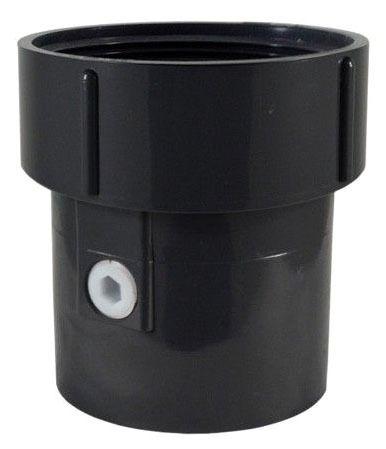 """3"""" X 4"""" PVC Pipe Fit Base 3-1/2"""" Spud Size W/Trap Primer"""